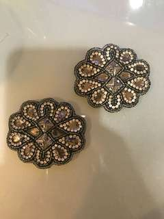 Mimco jewelled hair clip