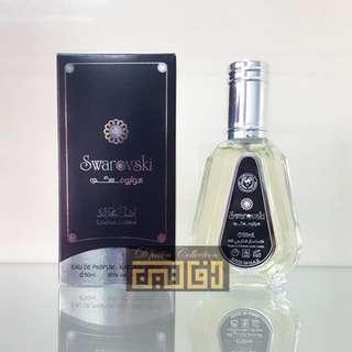 Eau De Parfum UAE Swarovski Black Silver