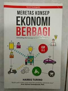 Buku Meretas Konsep Ekonomi Berbagi oleh Harris Turino