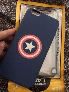 Iphone 6plus case captain america
