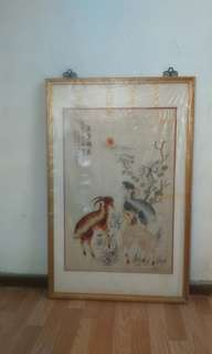 Chinese Painting (Sewing)