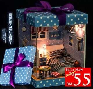 DIY Dreamland Gift Box RM55 Size 15 x 15 x 20.8cm
