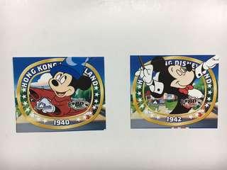 Disneyland 香港迪士尼貼紙mickey