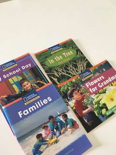 National Geographic literacy books