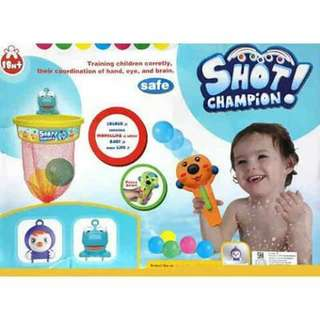Shot Champion Bath Toy