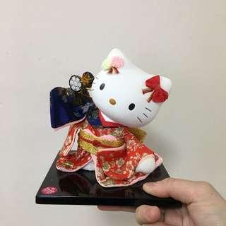 Hello Kitty 擺設 景品 日本 歌姬