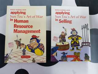 1) Applying Su Tzu's Art of War in Selling. 2) Applying Sun Tzu's Art of War in Human Resource Management