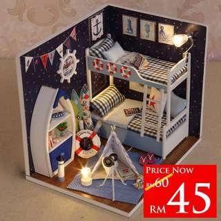 DIY Face The Sky Room RM45 size 15.1 x 11.6 x 13.1cm