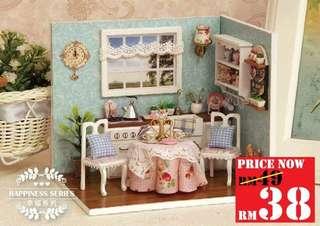 DIY Happy Kitchen RM38 size 15.1 x 11.6 x 13.1cm