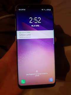Samsung galaxy s8 cracked screen still works