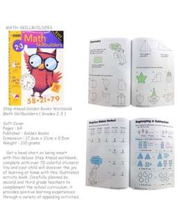 Step Ahead Little Golden Books Math Skillbuilders (grade 2-3)
