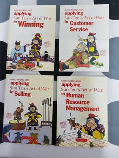 Applying Sun Tzu's Art of War :1) Winning. 2) Customer Service. 3) Selling. 4) Human Resource Management