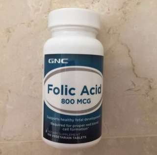 Brand new GNC Folic Acid
