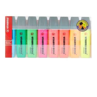 Stabilo boss highlighter - set