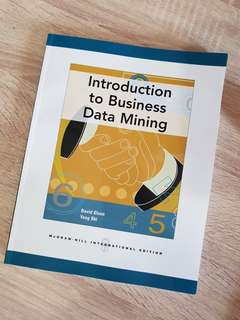BN Introduction to Business Data Mining