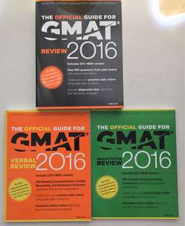 GMAT 2016 Full Set