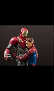 Infinity war Spider-Man and iron man