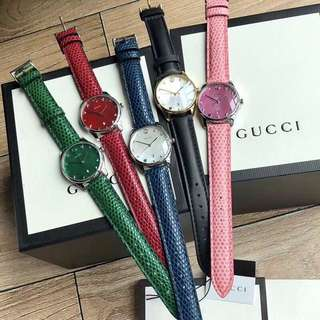 Gucci G-Timeless M of pearl ladies watch