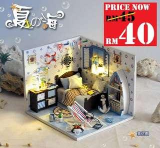 DIY Summer Love Room RM40 Size 12 x 13.5 x 15cm