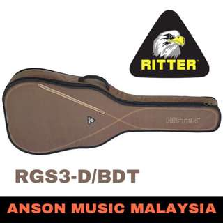 Ritter Session RGS3-D/BDT Dreadnought Acoustic, Bison-Desert