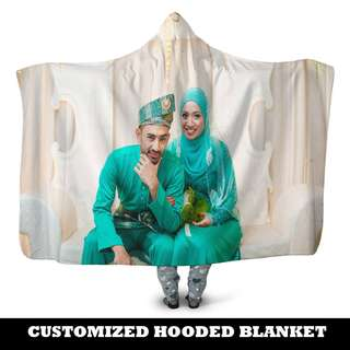 Customize your Hooded Blanket! a