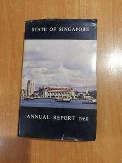 1960 Singapore annual report