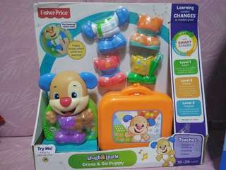 Fisher Price Dress & Go Puppy