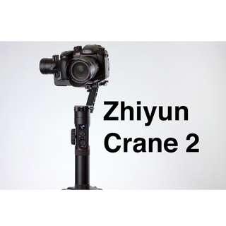 Zhiyun Crane 2 Gimbal Stabilizer. Zhiyun Malaysia Warranty 1 year