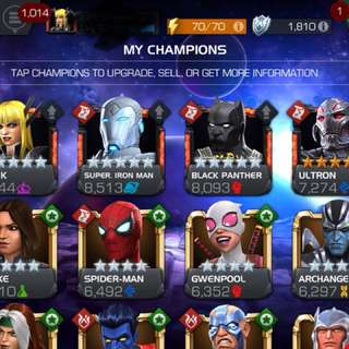 Marvel contest of champions MCOC