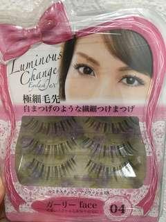 Japanese luminous change Eyelashes