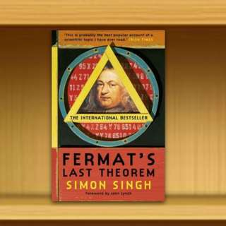 BN - Fermat's Last Theorem : The Story of a Riddle That Confounded the World's Greatest Minds for 358 Years By Dr. Simon Singh