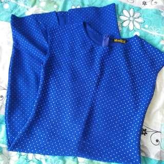 Bodycon Blue Dress