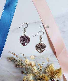 Enchanted tree earrings