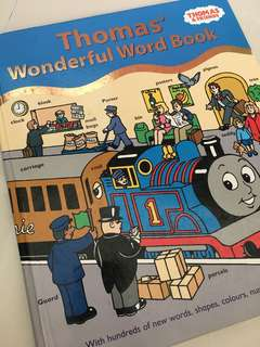 Thomas And Friends word book