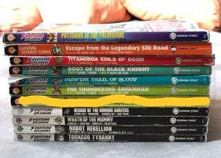X Venture books