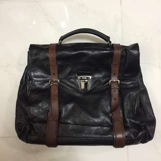 實用袋 PRADA runway piece briefcase bag Italy Dior celine LV Louis Valentino cdg comme supreme