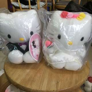 $170@2 絕版 Hello Kitty and Daniel 結婚公仔 麥當勞 Mcdonalds