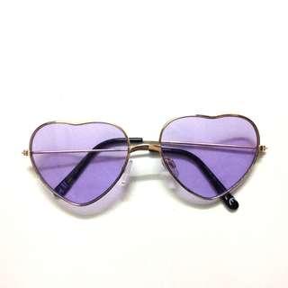 H&M heart sunglasses