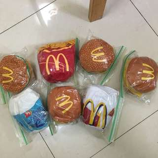 $100 for all 麥當勞 絕版公仔 Mcdonalds