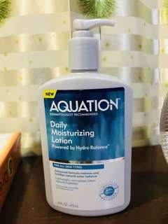 Aquation moisturizing lotion
