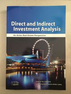 Direct and Indirect Investment Analysis / An Asian Real Estate Perspective