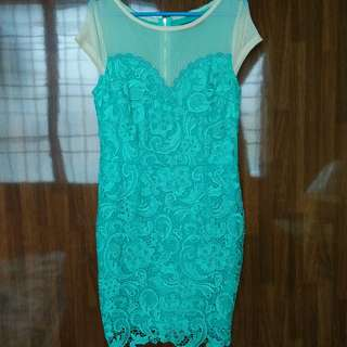 (free postage) Lace Dress