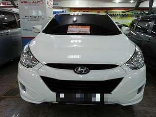 Hyundai Tucson Tahun 2012 2.0  Putih Matic service rutin hyundai Matic