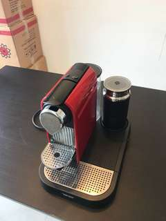 Nespresso Machine with Milk Frother