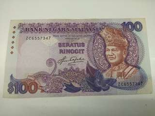 Notes RM100