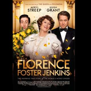 [Rent-A-Movie] FLORENCE FOSTER JENKINS (2016)