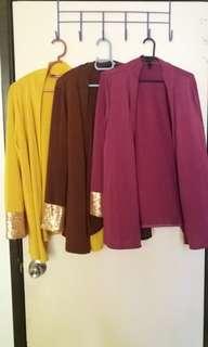#murah Kimono Cardigan Blouse