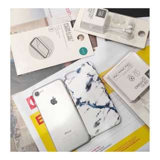 iPhone 6 silver 16 GB in box + brand new accessories