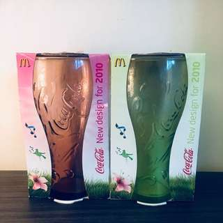 英國McDonald's x Coca Cola 2010 Glass
