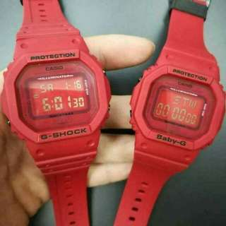 GSHOCK & BABY G DW5600 COUPLE